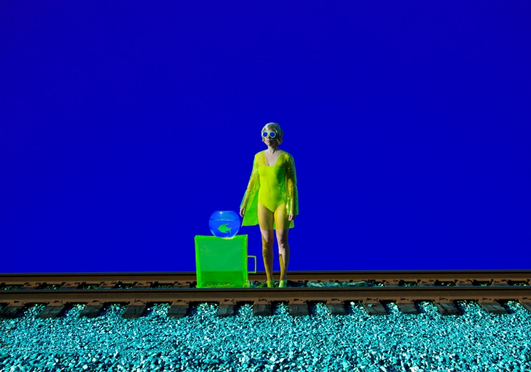 THE STATION © Reine Paradis Galerie Catherine et André Hug