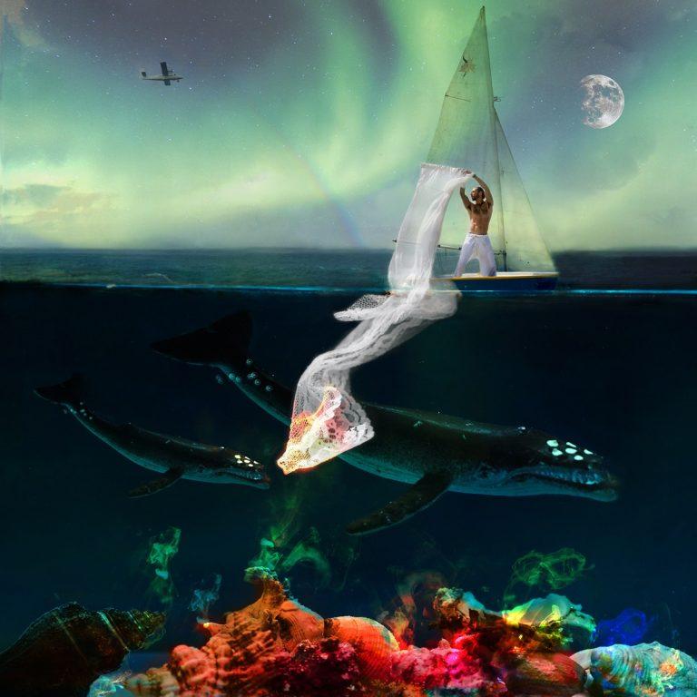 Coralie Salaün, Un homme à la mer