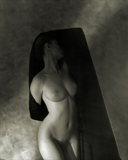 D W Mellor: Abstract Nude, Bryn Mawr Studio, 1993/1994, silver print, signed, titled, and dated verso, image size: 8.25