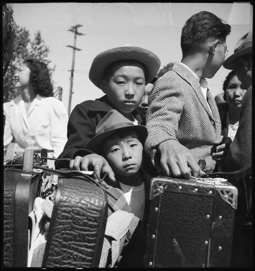 Dorothea Lange, Turlock, California, May 2, 1942. National Archives.