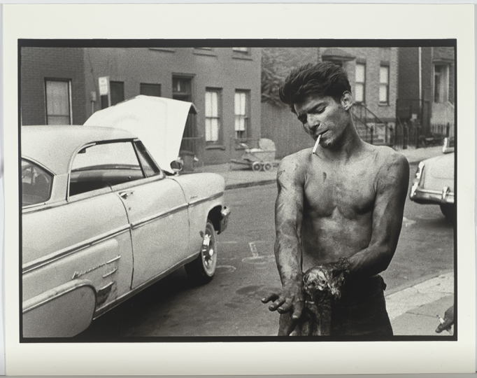 Bruce Davidson (American, b. 1933) Brooklyn Gang series, 1959 Modern gelatin silver print Sheet: 11 x 14 inches Gift of an anonymous donor © Bruce Davidson, 1959