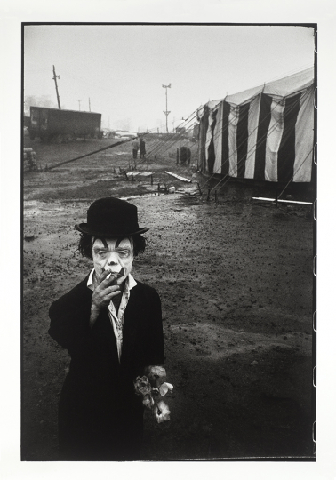 Bruce Davidson (American, b. 1933) Circus (The Dwarf) series, n.d. Gelatin silver print Sheet: 40 x 30 inches Gift of an anonymous donor © Bruce Davidson