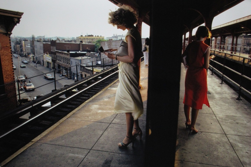 Bruce Davidson (American, b. 1933), Untitled, Subway series, n. d., chromogenic print , 20 x 30 inches, Gift of an anonymous donor, 2018.16.290 © Bruce Davidson 2018
