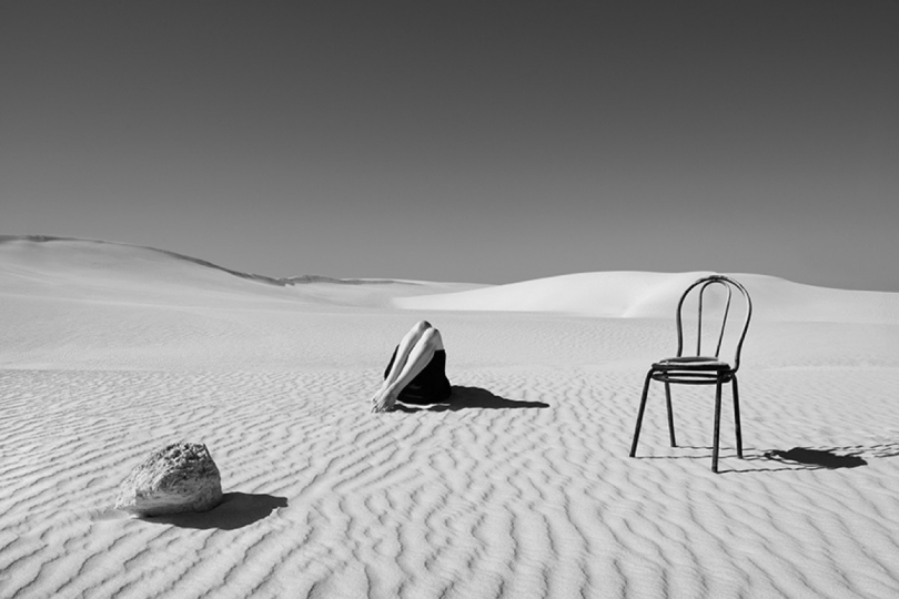 part of the series Inscapes, shot at Lancelin, Australia © Astrid Verhoef