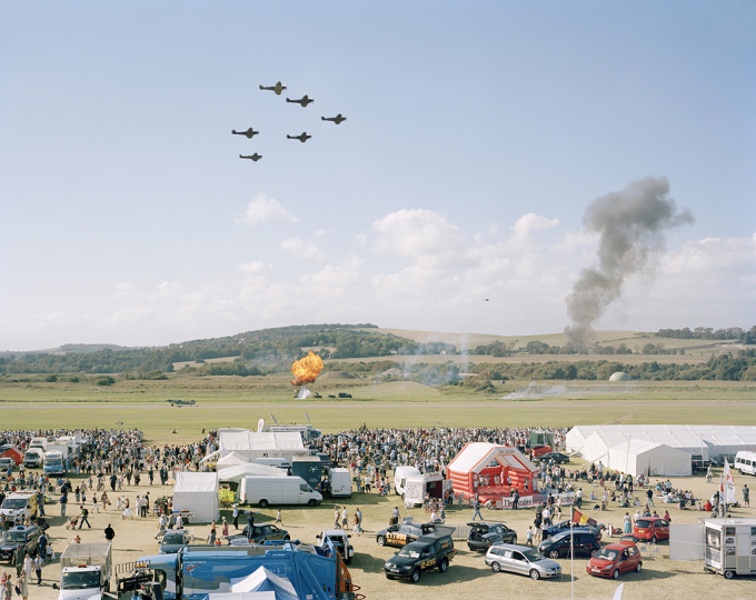 Battle of Britain Memorial Flight, Shoreham Air Show, West Sussex, 15 September 2007 © Simon Roberts – Courtesy Flowers Gallery