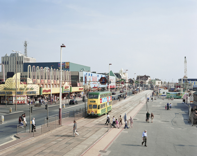 Blackpool Promenade, Lancashire, 24th July 2008 © Simon Roberts – Courtesy Flowers Gallery