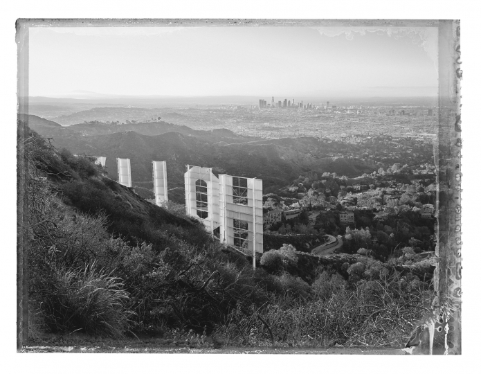 Christopher Thomas Hollywood Sign I, Hollywood Hills, 2017