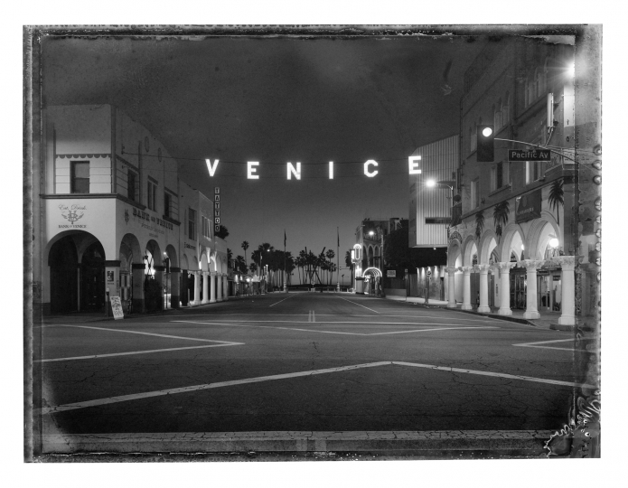 Christopher Thomas Venice Sign, 2017