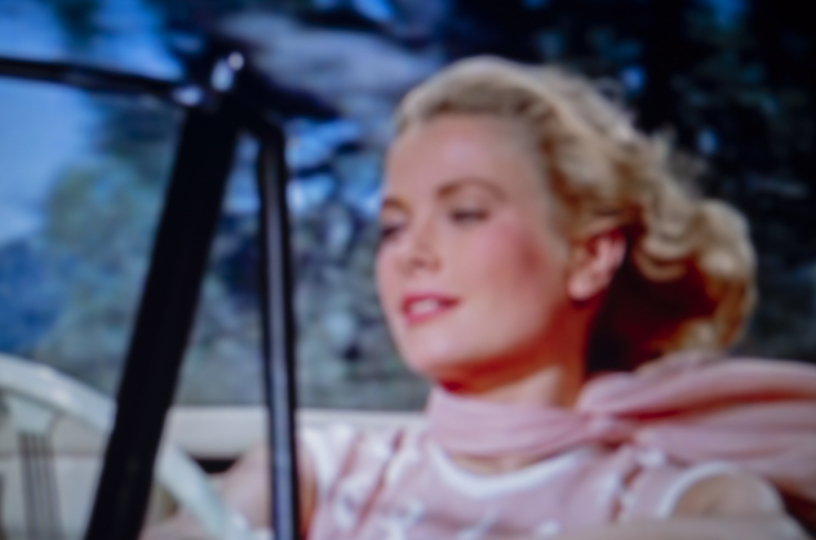 Grace kelly, La Main au collet (Alfred Hitchcock, 1955) © François Fontaine