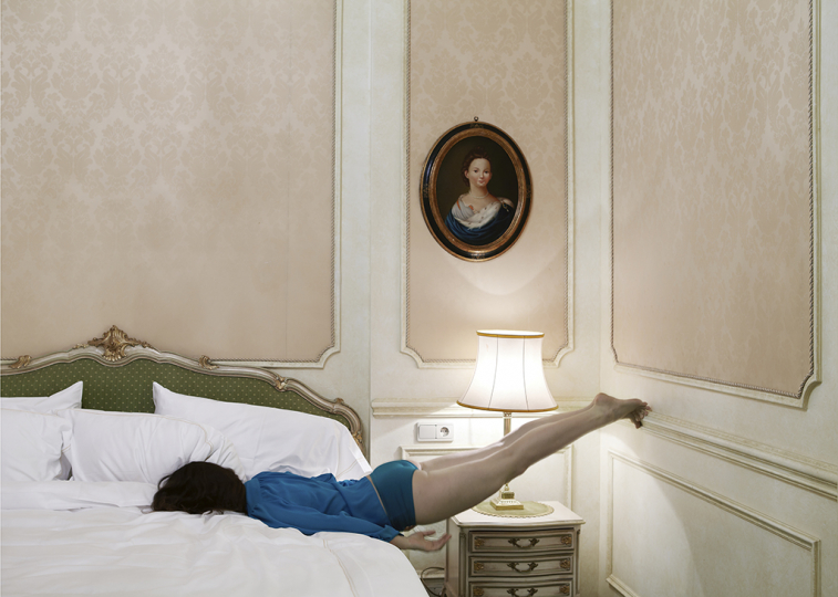 Room 81 (bed), from Do Not Disturb, 2011 © Anja Niemi