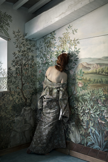 The Flower Room, from The Woman Who Never Existed, 2016 © Anja Niemi