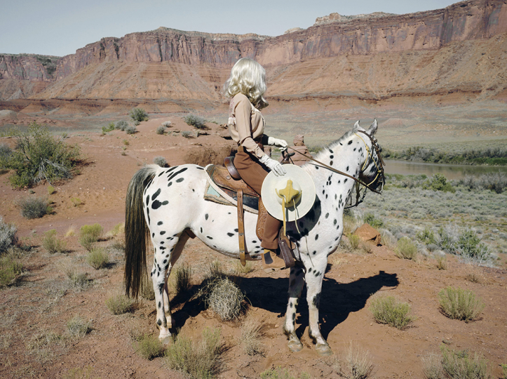 The Imaginary Cowboy, from She Could Have Been A Cowboy, 2018 © Anja Niemi