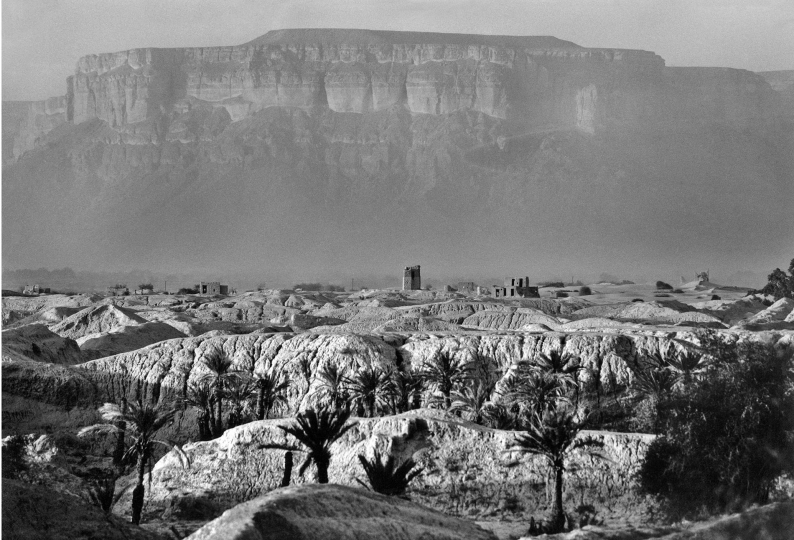Republic of Yemen, Hadramouth: landscape. (c) Ferdinando Scianna/Magnum Photos