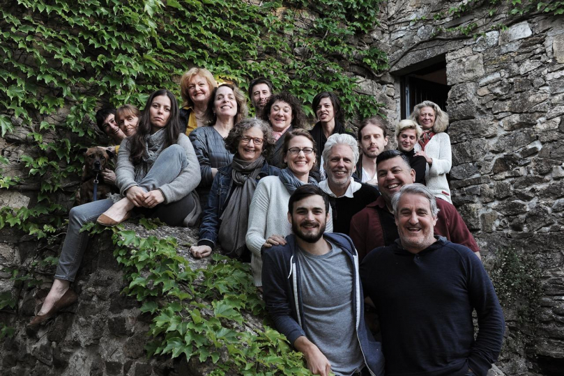 Elèves et mentors lors de la Photo Master Retreat 2017