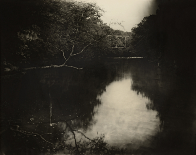 Sally Mann (American, born 1951), Deep South, Untitled (Bridge on Tallahatchie), 1998, gelatin silver print, Markel Corporate Art Collection © Sally Mann