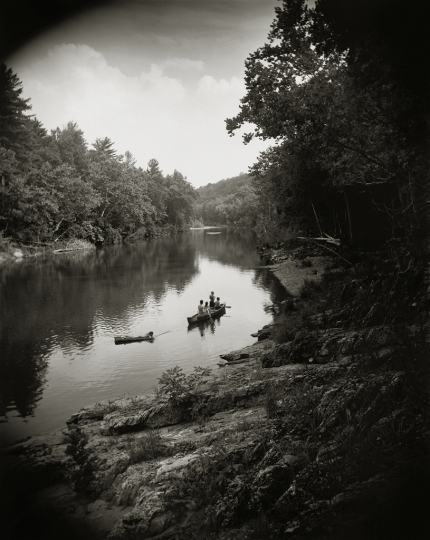 Sally Mann (American, born 1951) On the Maury, 1992, gelatin silver print, Private collection. © Sally Mann