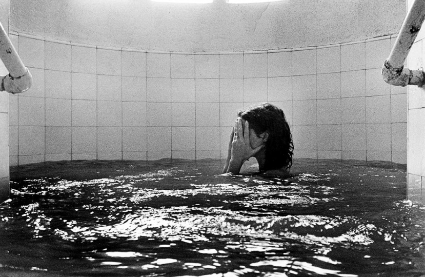 Broken Engagement, Mineral Bath, San Jose Purua, Mexico, 1976