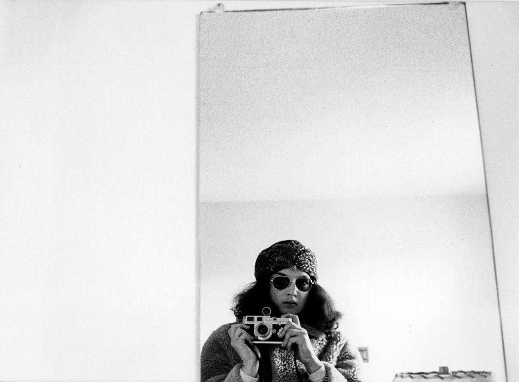 Self-Portrait, Dorm and Leica, 1973