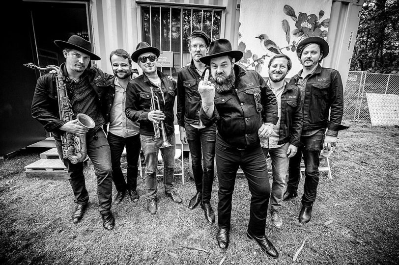 Nathaniel Rateliff & The Night Sweats, 2016 - Into The Light © Jérôme Brunet