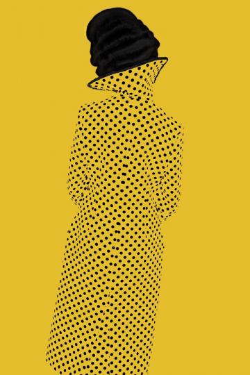 Without a Face (Yellow), Old Future 2013 © Erik Madigan Heck / courtesy Christophe Guye Galerie