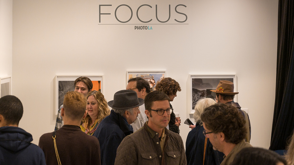 The Focus Photo booth was jammed, really jammed © Andy Romanoff