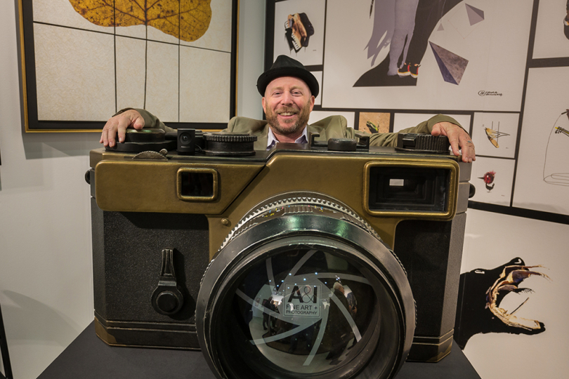 Phillip Goldner, President of A&I brought along a really BIG camera © Andy Romanoff
