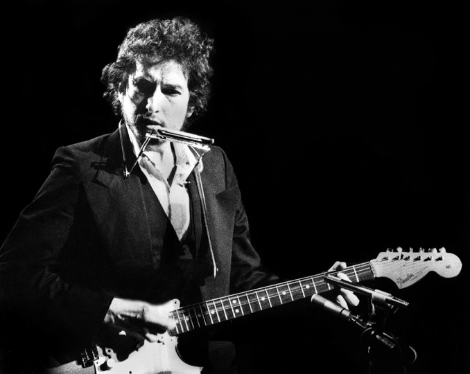 Gijsbert Hanekroot - Bob Dylan USA 1974 - Courtesy of Blue Lotus Gallery
