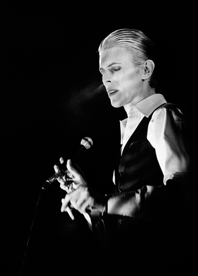Gijsbert Hanekroot - David Bowie Netherlands 1976 - Courtesy of Blue Lotus Gallery