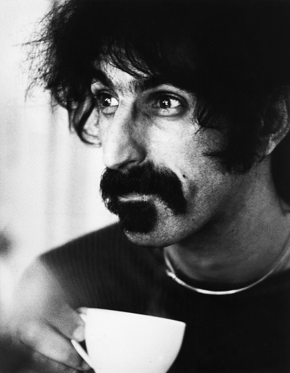 Gijsbert Hanekroot - Frank Zappa Netherlands 1972 - Courtesy of Blue Lotus Gallery