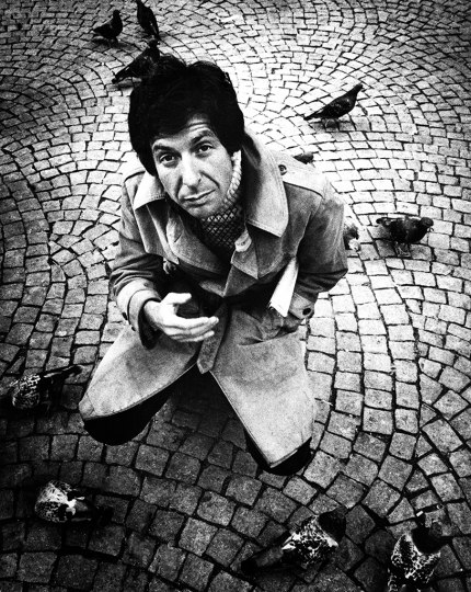 Gijsbert Hanekroot - Leonard Cohen Netherlands 1972 - Courtesy of Blue Lotus Gallery