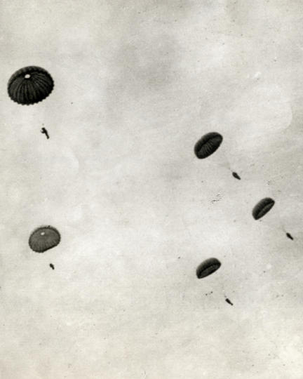 German Paratroops. May31, 1940 - Images in Transition © David Pace and Stephen Wirtz/Schilt Publishing