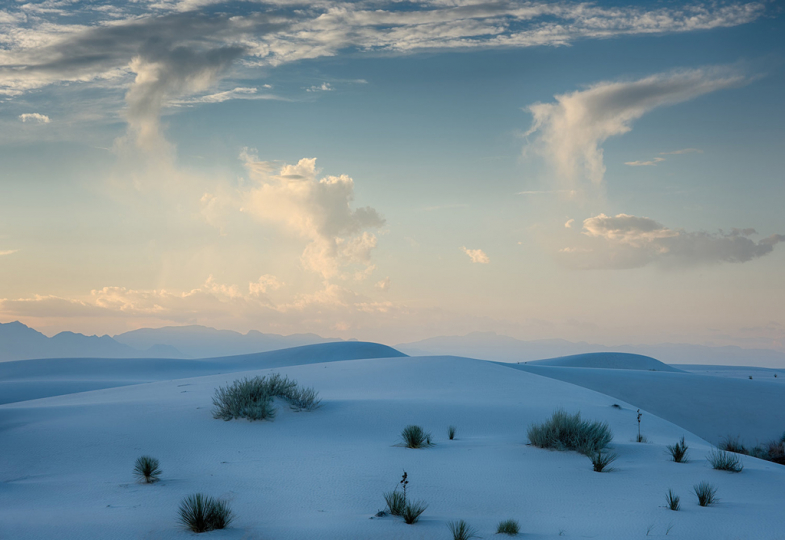 Rising Clouds over Dunes-©Craig Varjabedian