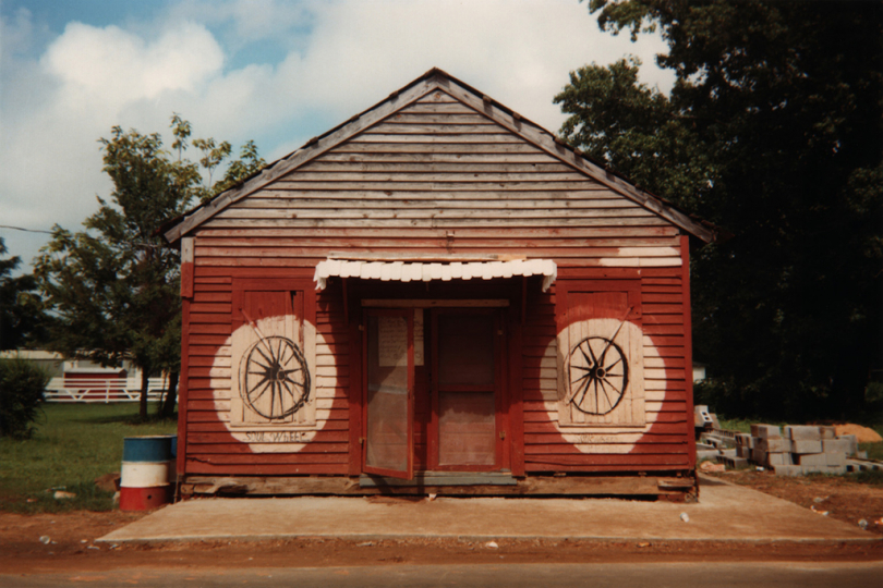 William Christenberry, The Underground Club, Greensboro, Alabama, 1967-2000 Courtesy The Walther Collection