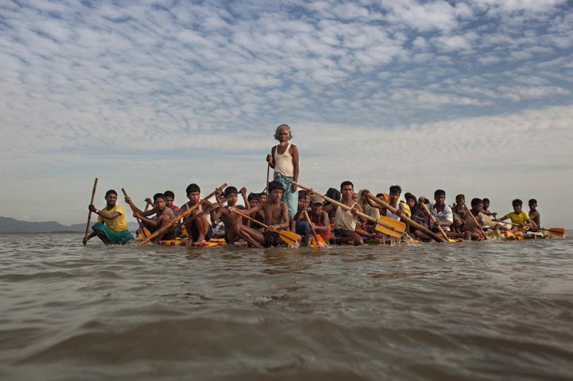 """Patrick Brown remporte le prix du livre FotoEvidence 2019 avec World Press Photo pour """"No Place On Earth""""."""