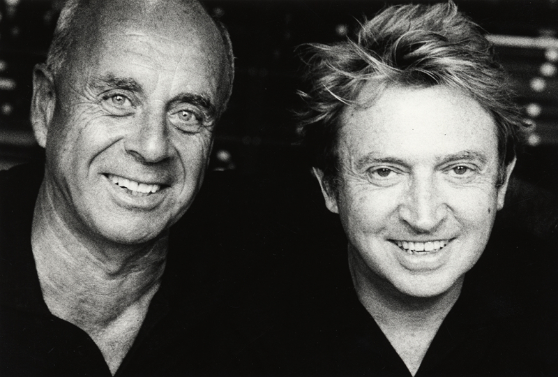 Ralph Gibson & Andy Summers – Courtesy Miami Photo Fest 2019