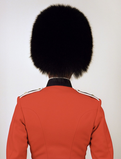 Scot guard, UK, from the EMPIRE series, 2004-2007; photo by Charles Fréger