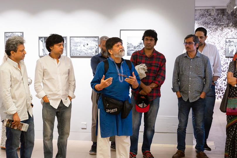 Gallery Visit | Drik Gallery at Dhanmondi Artists: Rashid Talukder, Shaheen Dill-Riaz and Susan Meiselas on 2nd March 2019 in Dhaka, Bangladesh. Photo by Roman Jr. / Chobi Mela X