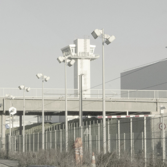 Orly West airport - All Watched Over by Machines of Loving Grace © Leah Gordon