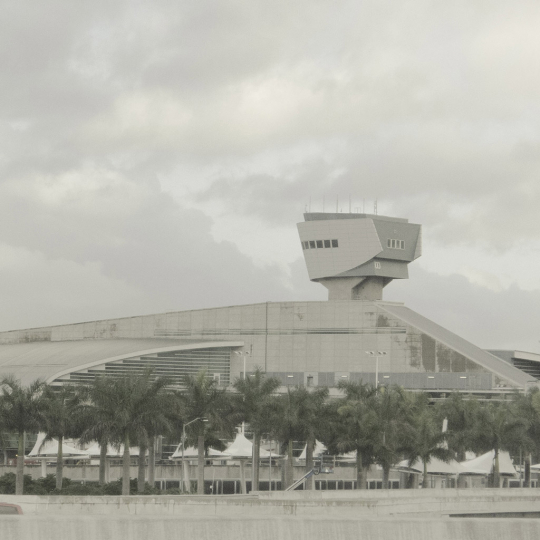 Miami airport - All Watched Over by Machines of Loving Grace © Leah Gordon
