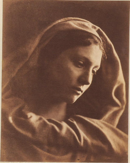 Julia Margaret Cameron Mary Mother, 1867 Albumen print Collection of Michael Mattis and Judy Hochberg