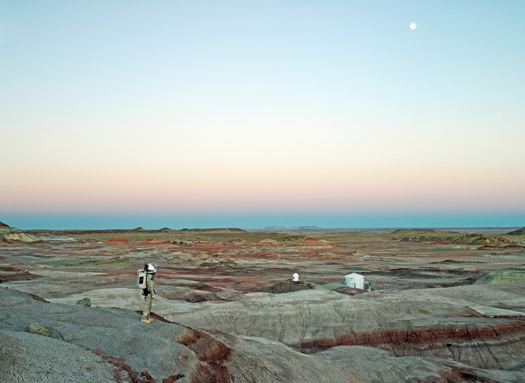 Mars Desert Research Station #11 [MDRS], Mars Society, San Rafael S 64 well, Utah, U.S.A., 2008 © Vincent Fournier