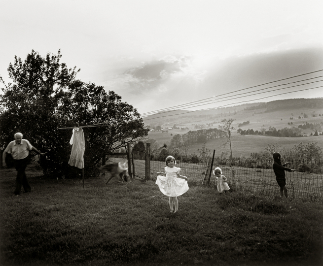Sally Mann (American, born 1951), Easter Dress, 1986, gelatin silver print, Patricia and David Schulte © Sally Mann
