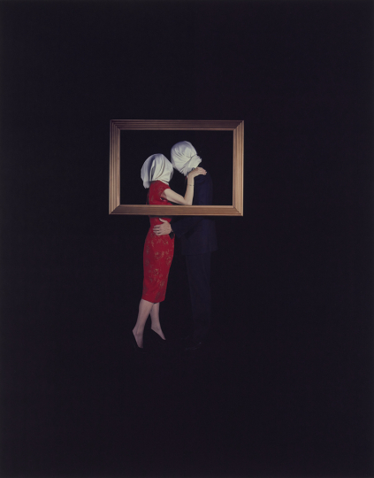 Eileen Cowin American, born 1947 Magritte, 1987 Dye diffusion print Image: 61 × 48 cm (24 × 18 7/8 in.) The J. Paul Getty Museum, Los Angeles, Gift of The Artist © Eileen Cowin
