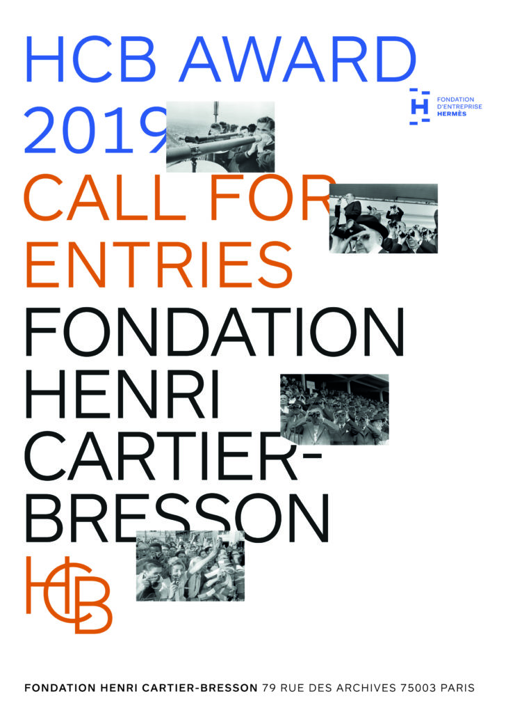 Photography Award HCB Award 2019 : Call for entries