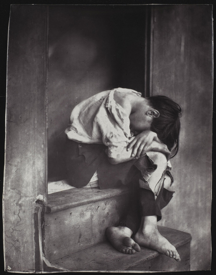 Oscar Gustave Rejlander (British, born Sweden, 1813 - 1875) - Poor Jo, negative before 1862; print after 1879 - Courtesy National Gallery of Canada, Ottawa