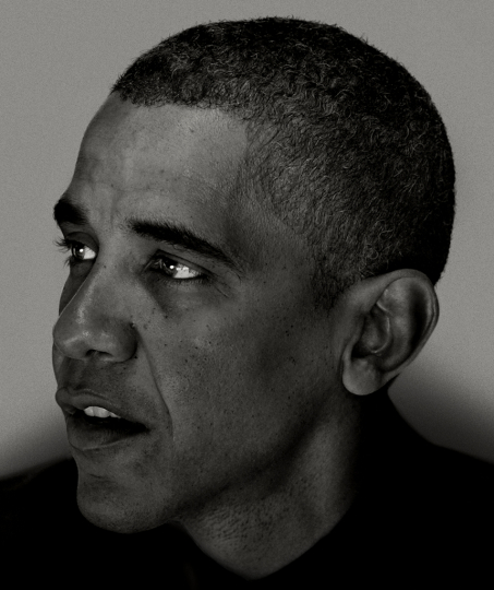 Barack Obama-I © Nadav Kander - Courtesy of Flowers Gallery