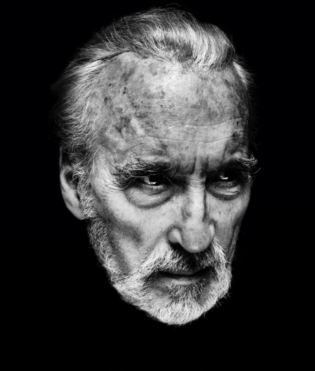 Christopher Lee I © Nadav Kander - Courtesy of Flowers Gallery