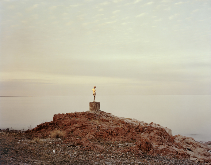 , Priozersk XIV (I Was Told She Once Held An Oar), Kazakhstan 2011 © Nadav Kander - Courtesy of Flowers Gallery