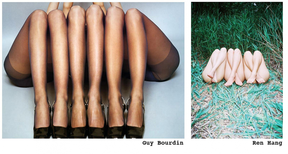 © Guy Bourdin © Ren Hang