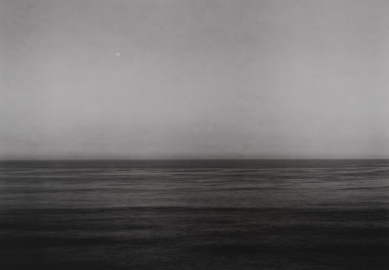 "Early Evening – Moonrise over Montauk, the North Atlantic Ocean Montauk Point – ""The End"" © Thomas Joshua Cooper - Courtesy The Parrish Art Museum"